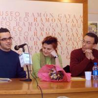 Con Iván López y Belén Sánchez (2006)