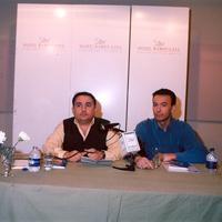 Con Pascual García (abril 2003)