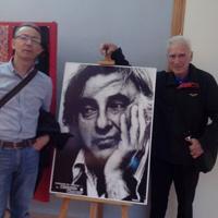 Con Harry Marcus en la Muestra de Teatro Edmundo Chacour (2013)