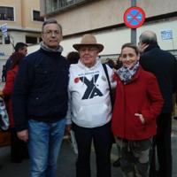 Con Joaquín Contreras y Carmen Cantabella (2017)