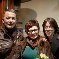 Con Marisa López Soria y Vega Cerezo (noviembre, 2011)