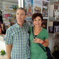Con Marisa López Soria - Feria del Libro Murcia (2018)