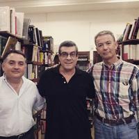 Con Pascual García y Rubén Castillo (2013)