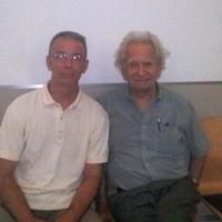 Con Rodolfo Hinostroza en Cartagena (2013)
