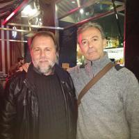 Con el poeta José Luis Zerón (Murcia, noviembre 2016)