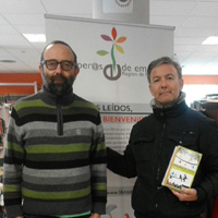 Con el poeta y politólogo José  Daniel Espejo
