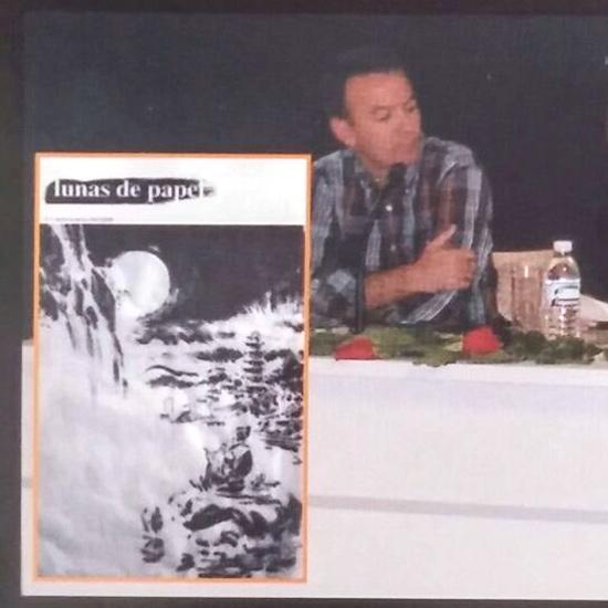 Presentación de la revista literaria <i>Lunas de papel</i>