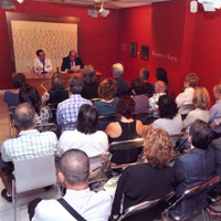 Presentación de Afán de certidumbre. Vista paronámica. Museo Ramón Gaya. (2011)
