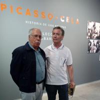 Con Camilo José Cela Conde - Exposición Picasso-Cela (Cartagena, 2018)